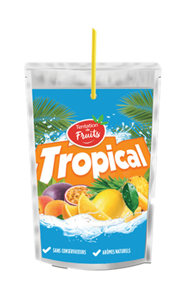 pouches tropical